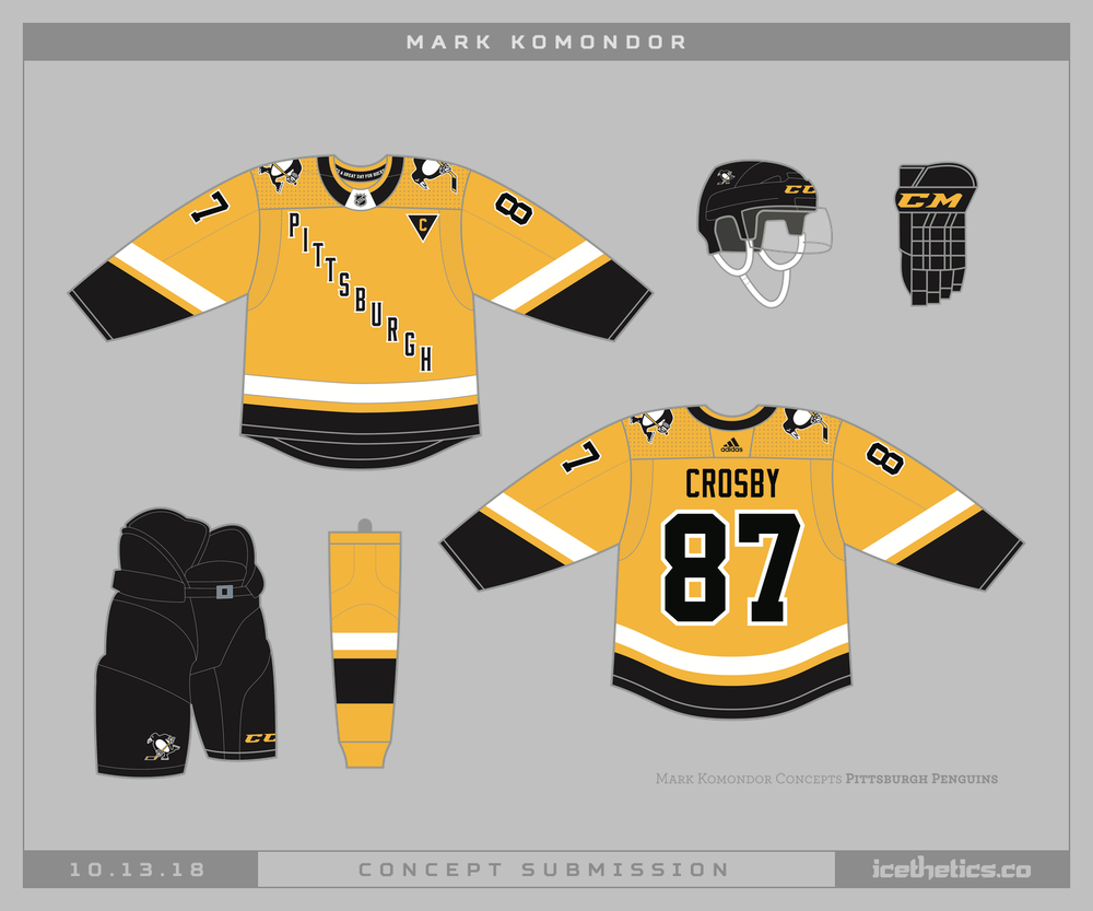 1013-markkomondor-pit A Deeper Look into the Adidas Reverse Retro Jersey: Pittsburgh Penguins Pittsburgh Penguins Reverse Retro Jerseys