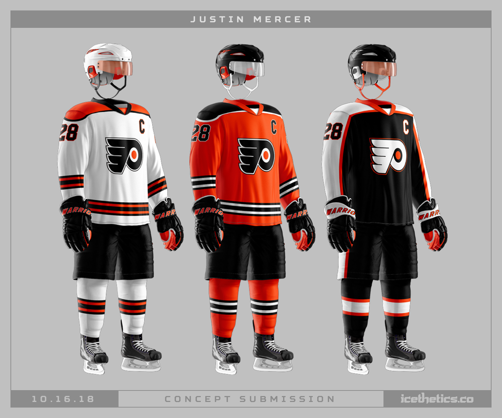1016-justinmercer-phi A Deeper Look into the Adidas Reverse Retro Jersey: Philadelphia Flyers Philadelphia Flyers Reverse Retro Jerseys