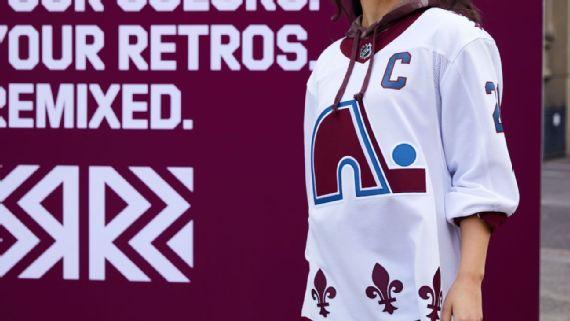 Adidas Reverse Retro Jersey Colorado Avalanche Retro 2
