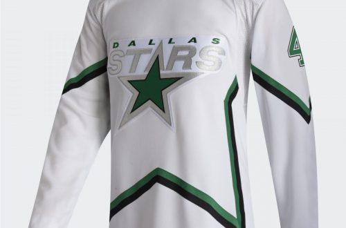Adidas Reverse Retro Jersey Dallas Stars 7
