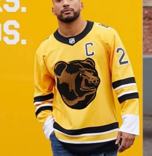 Bear-2 A Deeper Look into the Adidas Reverse Retro Jersey: Boston Bruins Boston Bruins Reverse Retro Jerseys