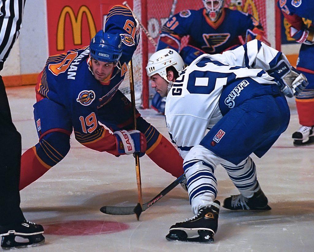 Brendan-Shanahan-Blues-1024x823 Brendan Shanahan Brendan Shanahan Detroit Red Wings Hartford Whalers New Jersey Devils New York Rangers Team Canada Toronto Maple Leafs