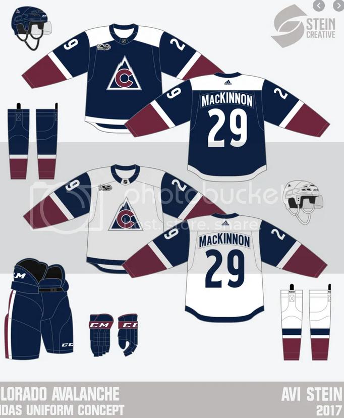 Colorado-Avalanche-Concept-Jersey-15 A Deeper Look into the Adidas Reverse Retro Jersey: Colorado Avalanche Colorado Avalanche Reverse Retro Jerseys