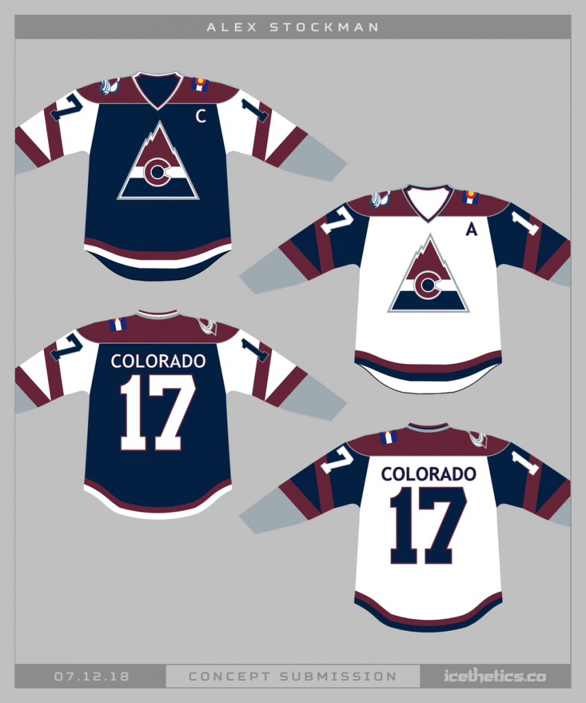 Colorado-Avalanche-Concept-Jersey-16-853x1024 A Deeper Look into the Adidas Reverse Retro Jersey: Colorado Avalanche Colorado Avalanche Reverse Retro Jerseys