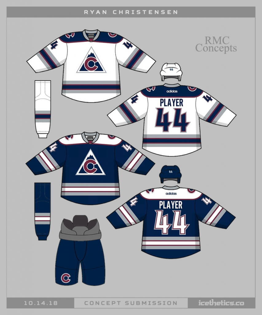 Colorado-Avalanche-Concept-Jersey-2-853x1024 A Deeper Look into the Adidas Reverse Retro Jersey: Colorado Avalanche Colorado Avalanche Reverse Retro Jerseys