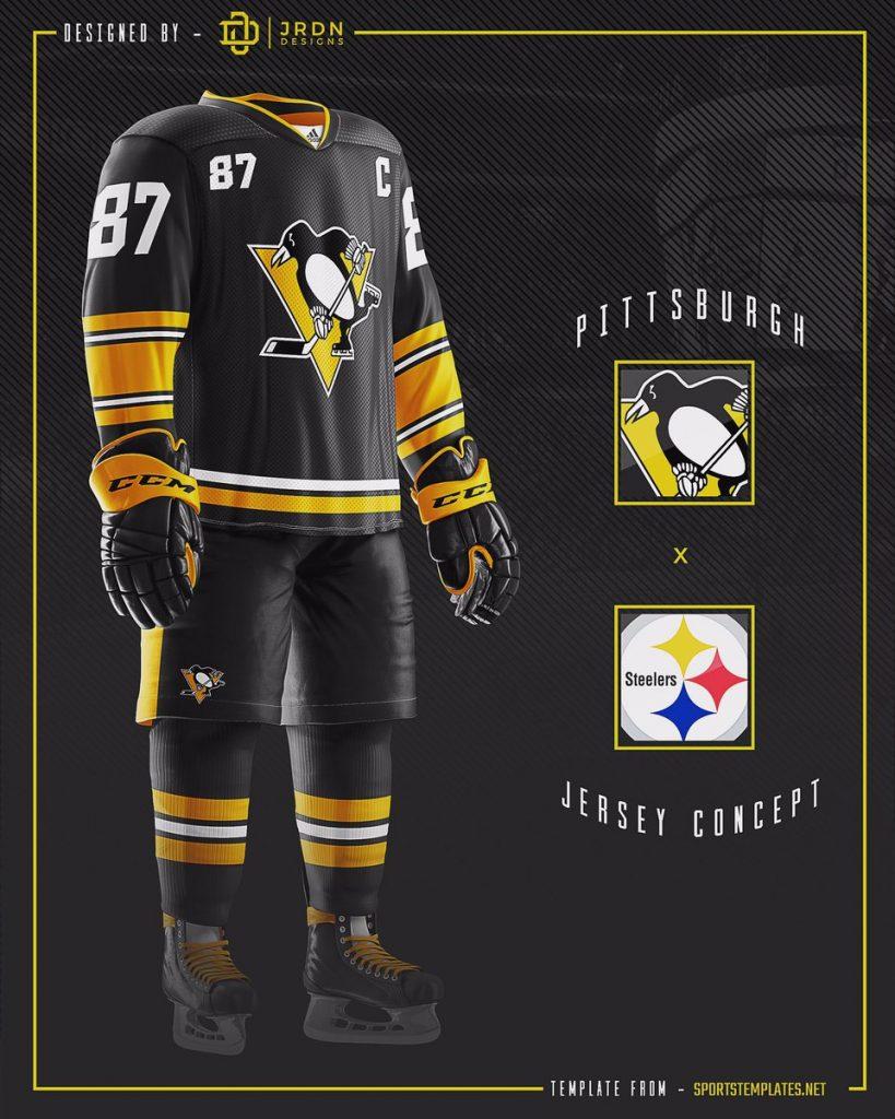 DKWJGkKUMAE6JBU-819x1024 A Deeper Look into the Adidas Reverse Retro Jersey: Pittsburgh Penguins Pittsburgh Penguins Reverse Retro Jerseys