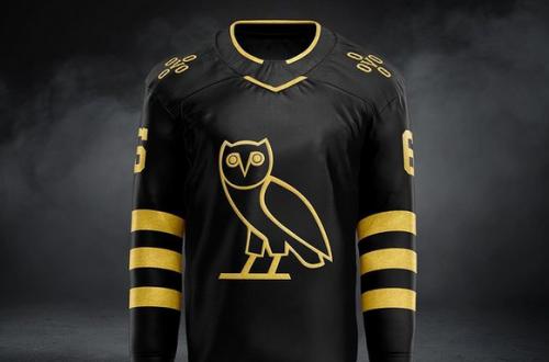 Drake Ovo Hockey Jersey