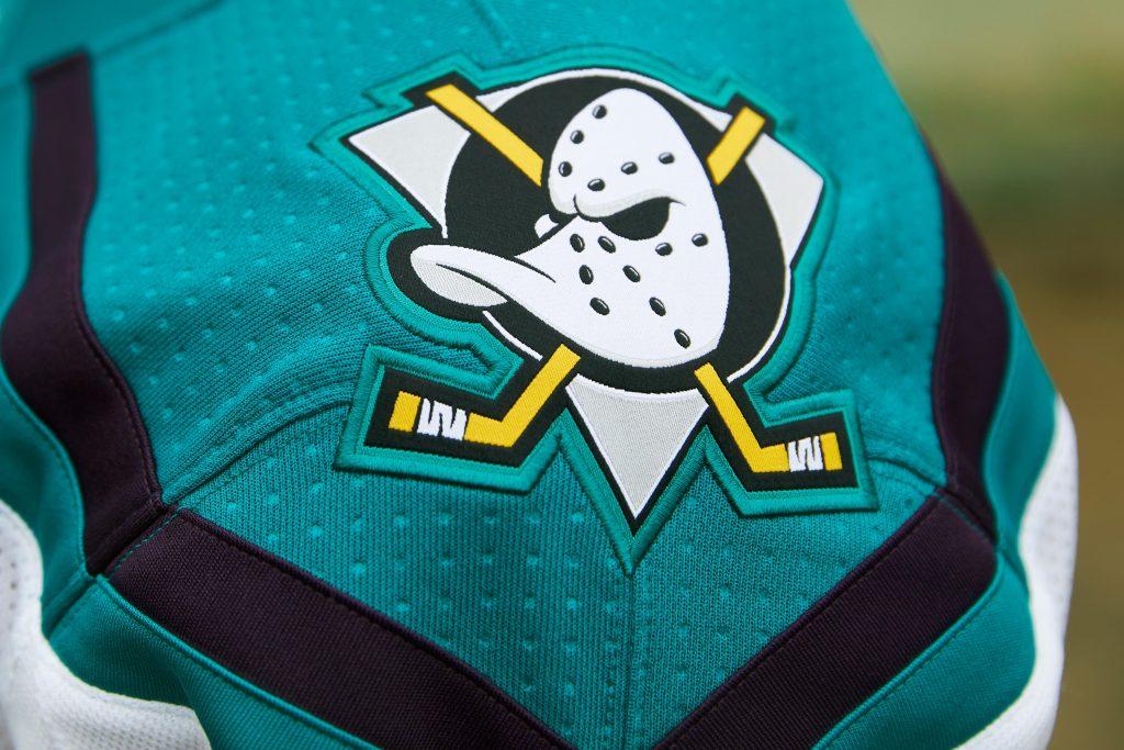 Ducks-Shoulder-1024x683 A Deeper Look into the Adidas Reverse Retro Jersey: Anaheim Ducks Anaheim Ducks Reverse Retro Jerseys