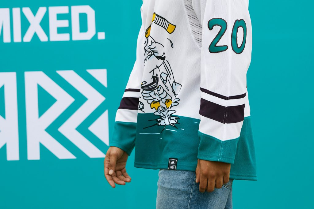 Ducks-Side-1024x683 A Deeper Look into the Adidas Reverse Retro Jersey: Anaheim Ducks Anaheim Ducks Reverse Retro Jerseys
