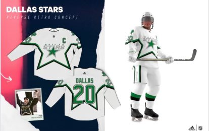 The Dallas Stars Reverse Retro jerseys are not as bad with the full look