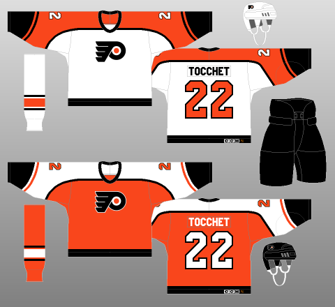 Flyers15 A Deeper Look into the Adidas Reverse Retro Jersey: Philadelphia Flyers Philadelphia Flyers Reverse Retro Jerseys