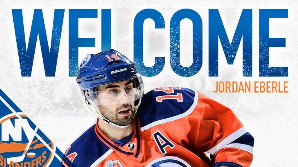 Jordan-Eberle-Islanders Jordan Eberle Edmonton Oilers Jordan Eberle New York Islanders