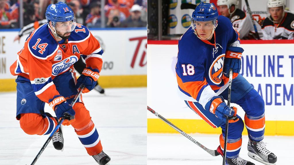 Jordan-Eberle-Strome Jordan Eberle Edmonton Oilers Jordan Eberle New York Islanders