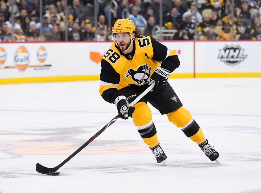 Kris-Letang-Penguins-Feb-2019 Kris Letang Pittsburgh Penguins