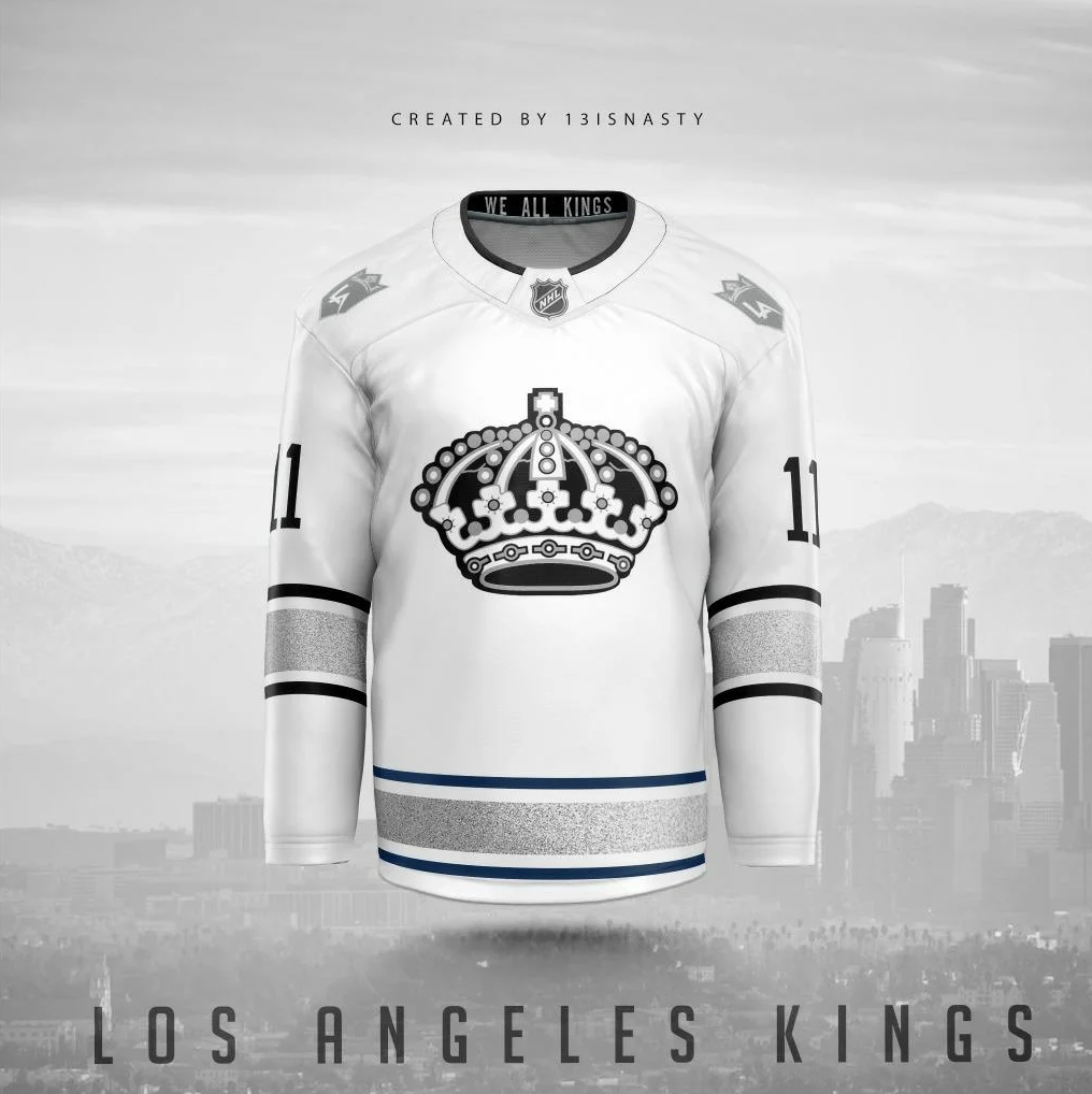 Los Angeles Kings Jersey Concepts 1