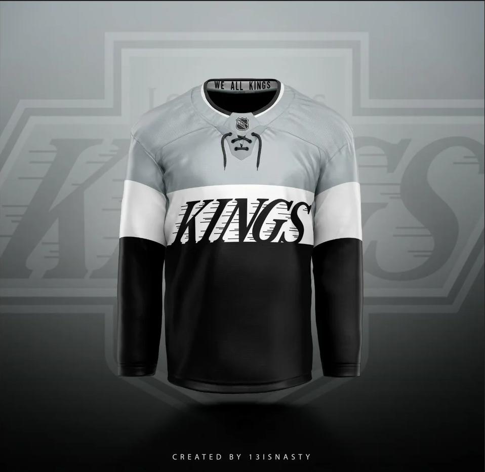 Los-Angeles-Kings-Jersey-Concepts-3 Three Los Angeles Kings jersey concepts Jersey Concepts Los Angeles Kings
