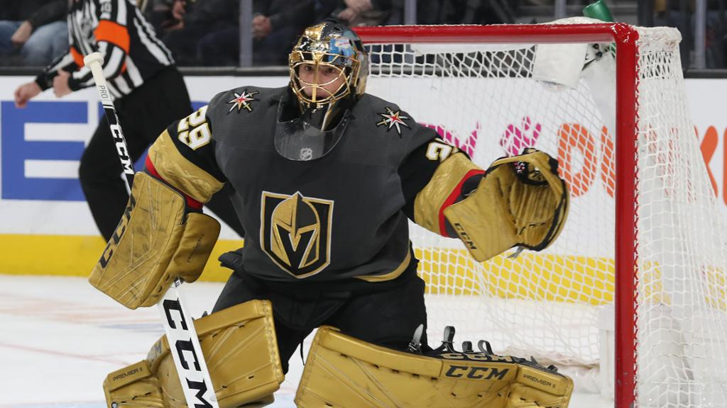 Marc-Andre-Fleury-Knights Never Forget: Marc-Andre Fleury's insane save to take down Mike Babcock for the Leafs Marc-Andre Fleury Vegas Golden Knights