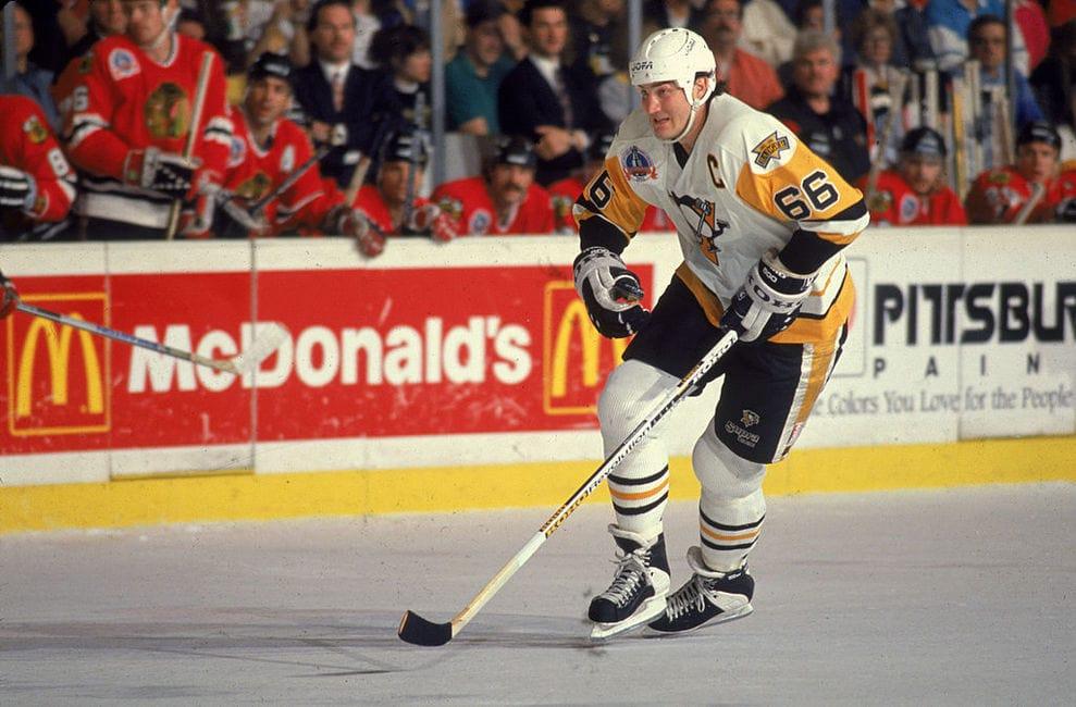 Mario-Lemieux-1992-Penguins Mario Lemieux Mario Lemieux Pittsburgh Penguins