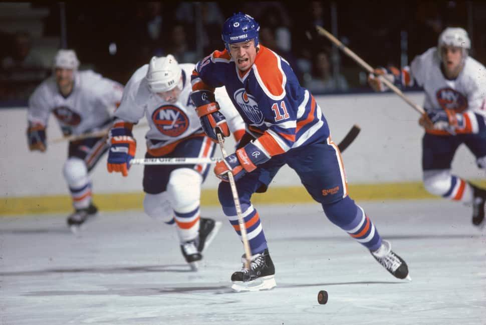 Mark-Messier-Edmonton-Oilers Mark Messier Edmonton Oilers Mark Messier New York Rangers Vancouver Canucks