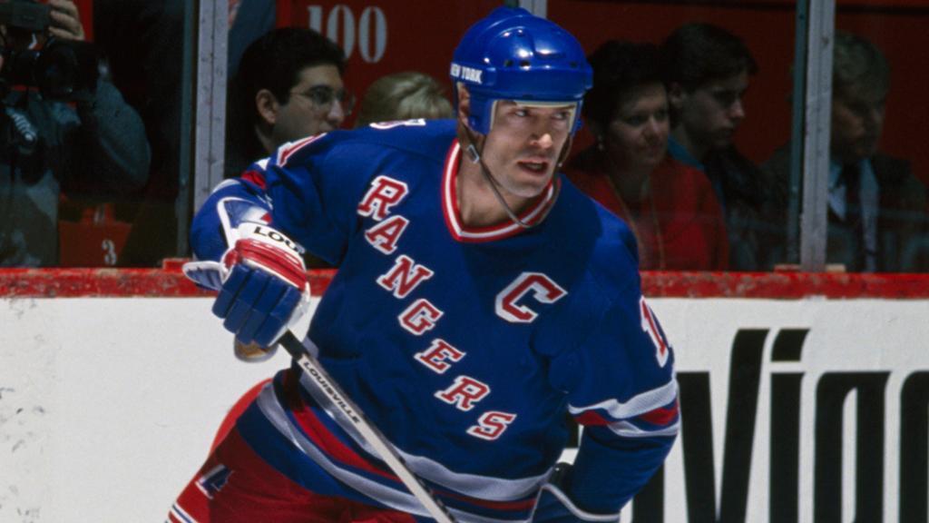 Messier-Rangers Mark Messier Edmonton Oilers Mark Messier New York Rangers Vancouver Canucks