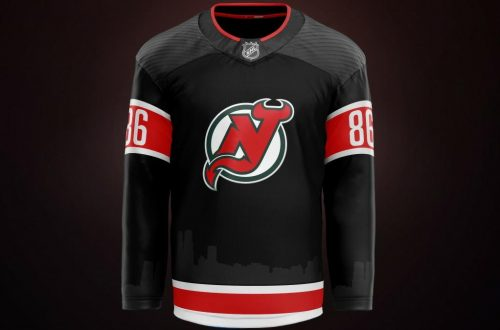 New Jersey Devils Jersey Concept