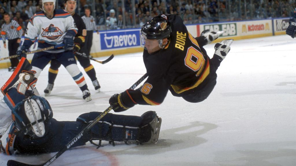 Pavel-Bure-Diving Pavel Bure Florida Panthers Pavel Bure Vancouver Canucks