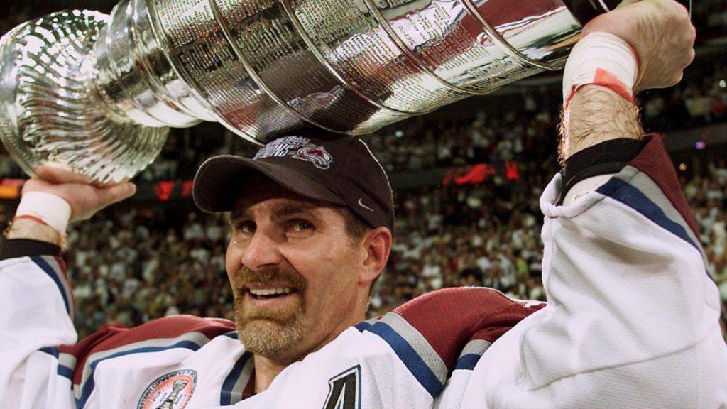 Ray-Bourque-Colorado-Avalanche-Stanley-Cup-2001-1024x576 Ray Bourque Boston Bruins Colorado Avalanche Ray Bourque