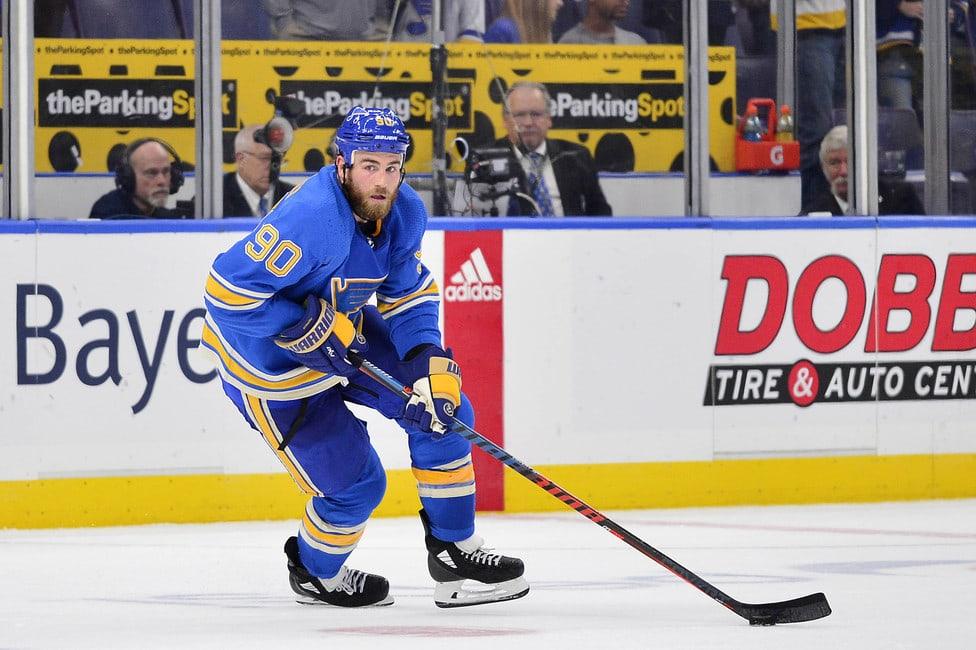 Ryan-OReilly-Blues-1 Ryan O'Reilly Buffalo Sabres Colorado Avalanche