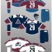 Avalanche 20-21 Jerseys