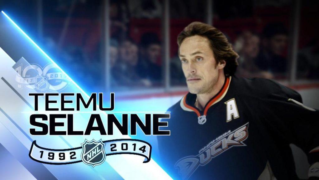 Selanne-Top-100-1024x577 Teemu Selanne Anaheim Ducks Colorado Avalanche San Jose Sharks Teemu Selanne Winnipeg Jets