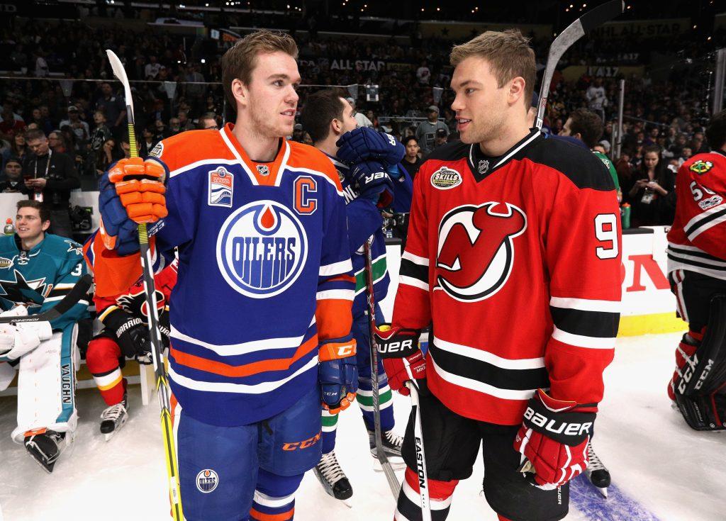 Taylor-Hall-McDavid-1024x735 Taylor Hall Arizona Coyotes Buffalo Sabres Edmonton Oilers New Jersey Devils
