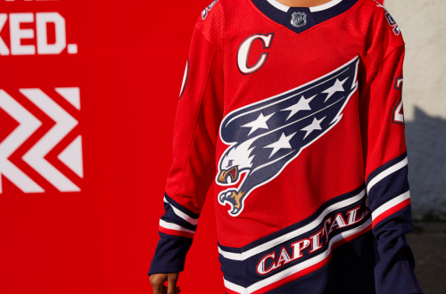 Washington Capitals Adidas Reverse Retro Jersey Front
