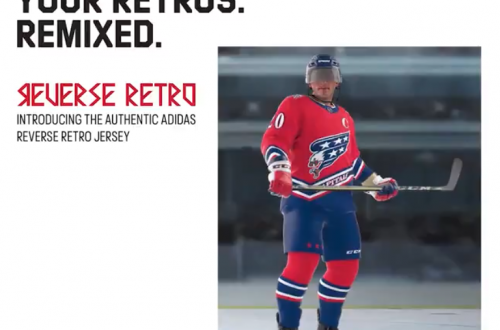 Washington Capitals Reverse Retro Complete Look