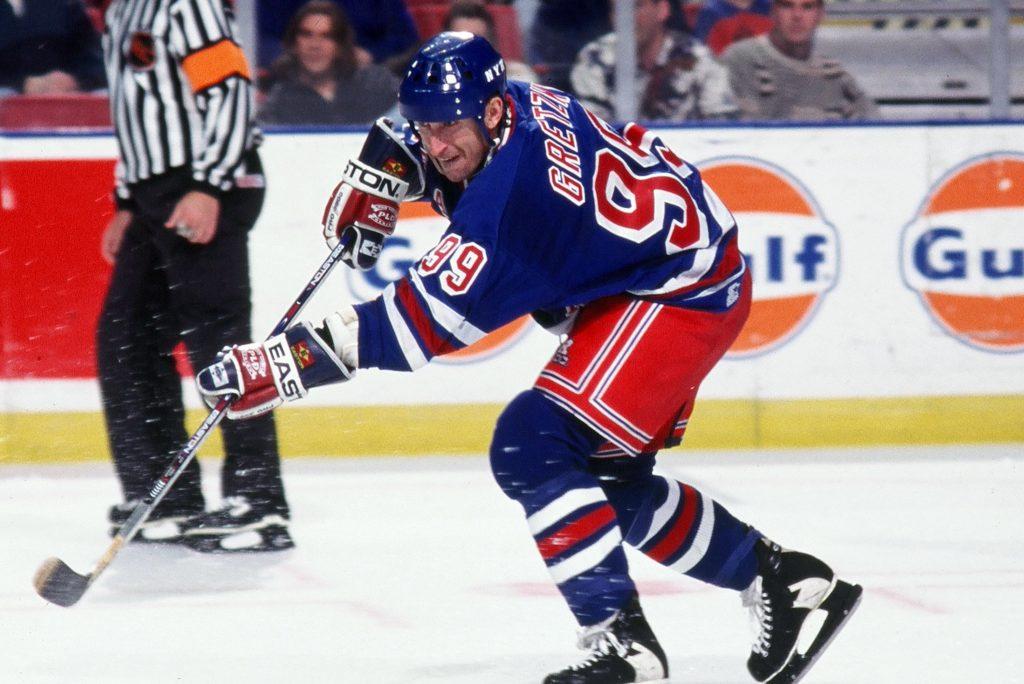 Wayne-Gretzky-Rangers-1024x684 Wayne Gretzky Edmonton Oilers Los Angeles Kings New York Rangers Team Canada Wayne Gretzky