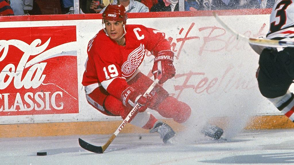 Yzerman-Red-Wings-1 Steve Yzerman Detroit Red Wings Steve Yzerman Tampa Bay Lightning