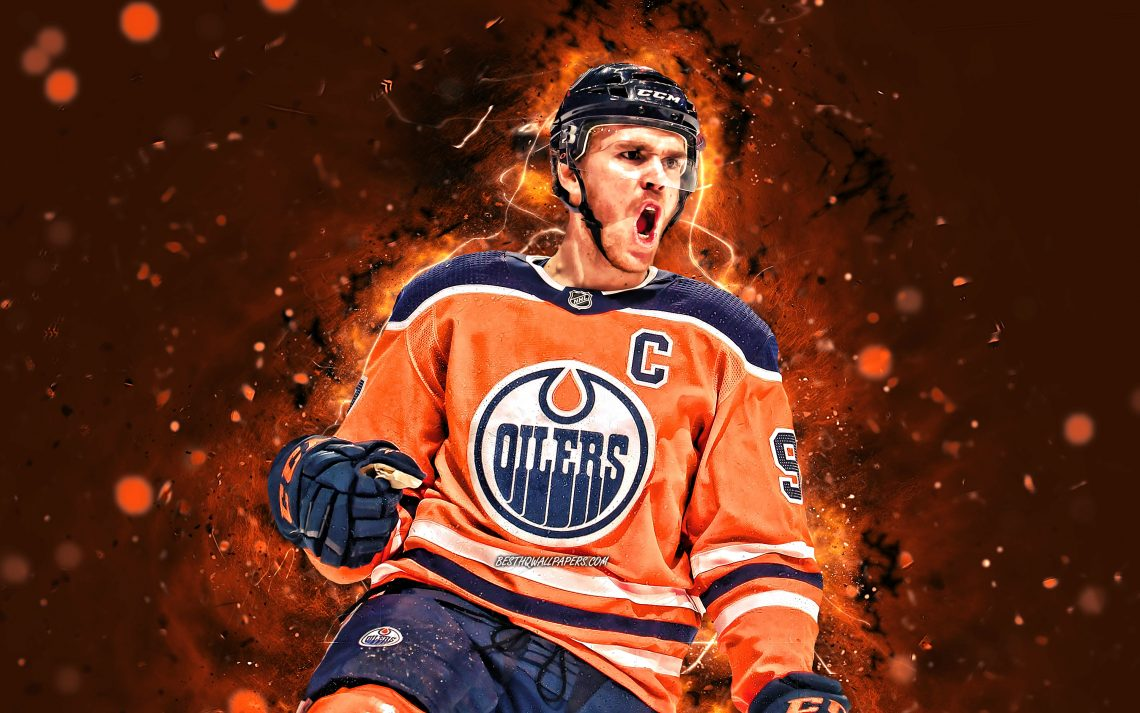 Connor Mcdavid 4k Nhl Edmonton Oilers Hockey Stars