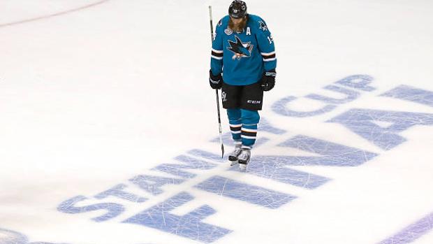 joe-thornton-in-2016-stanley-cup-final Joe Thornton Boston Bruins Joe Thornton San Jose Sharks Toronto Maple Leafs