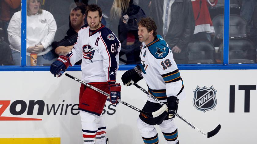 thorntonnashusatsi Rick Nash Boston Bruins Columbus Blue Jackets New York Rangers Rick Nash