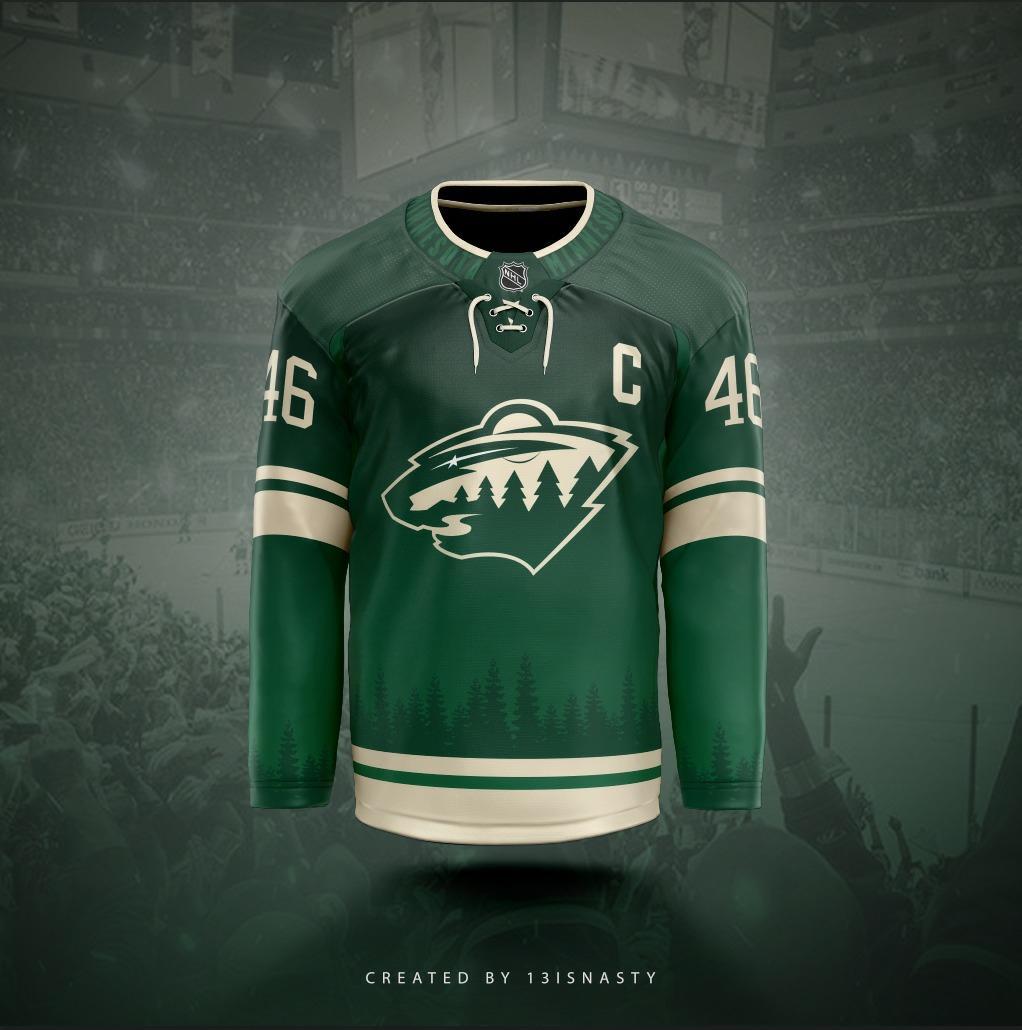 Minnesota Wild Concept Jersey