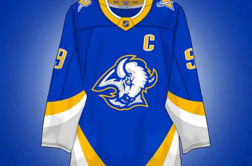 A Gorgeous Buffalo Sabres Reverse Retro Jersey Concept