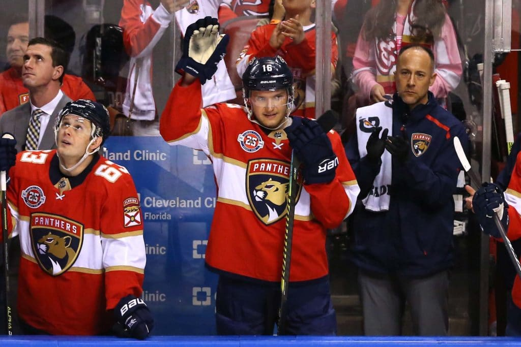 Aleksander-Barkov-Florida-Panthers-6 Top 5 plays from 2019-2020: Aleksander Barkov Aleksander Barkov Florida Panthers