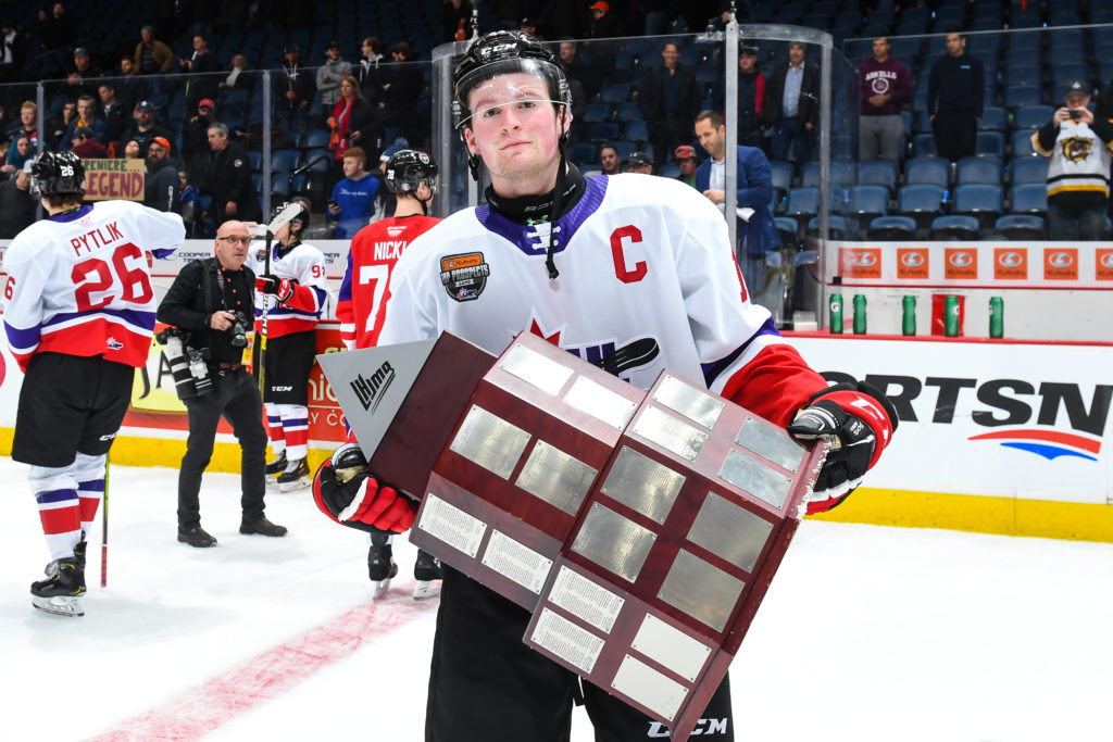 Alexis-Lafreniere-OHL-Trophy Alexis Lafreniere is still a realistic option for Team Canada at the World Juniors! Alexis Lafreniere New York Rangers Team Canada