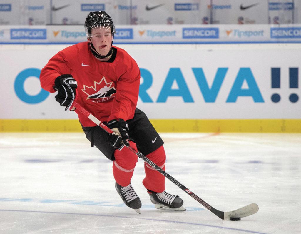 Alexis-Lafreniere-Team-Canada Alexis Lafreniere is still a realistic option for Team Canada at the World Juniors! Alexis Lafreniere New York Rangers Team Canada