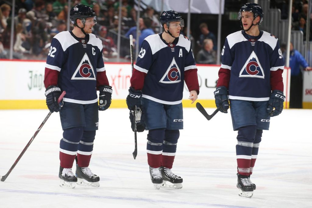 Best-Line-in-the-NHL-1024x683 The High Button Podcast: Nathan MacKinnon - Worth a listen! Colorado Avalanche Nathan MacKinnon
