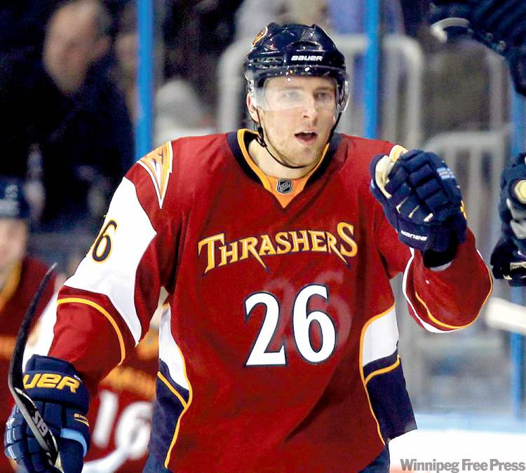 Blake-Wheeleer-Winnipeg-Jets-10 Blake Wheeler Atlanta Thrashers Blake Wheeler Winnipeg Jets