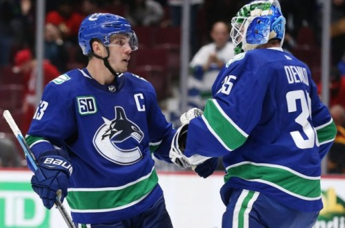 Bo Horvat Vancouver Canucks 2