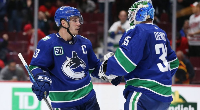Bo-Horvat-Vancouver-Canucks-2 Top 5 plays from 2019-2020: Bo Horvat Bo Horvat Vancouver Canucks