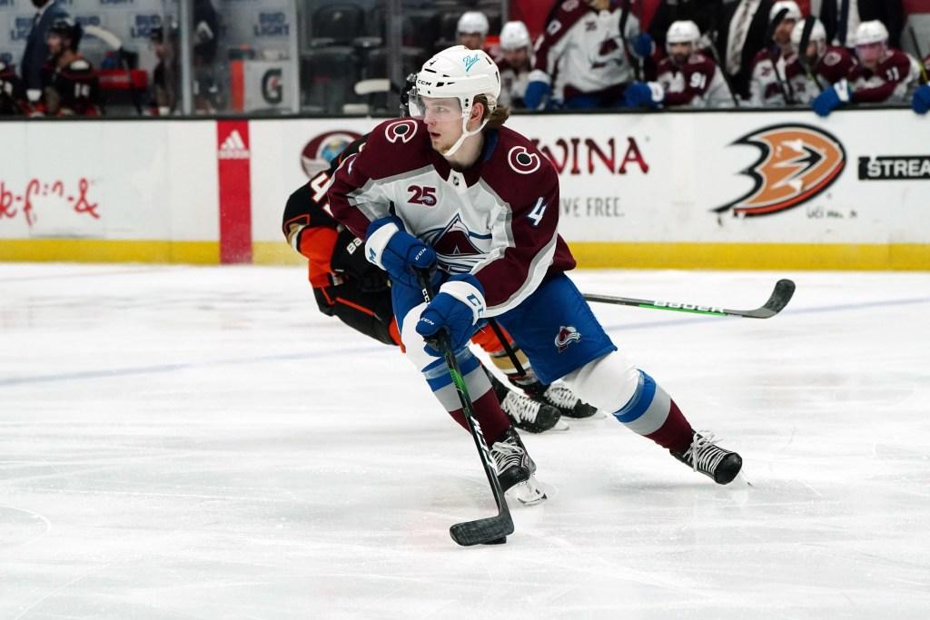 Bowen-Byram-1st-NHL-Point-Colorado-Avalanche-1-1024x683 Bowen Byram gets his first career NHL apple - 1.22.21 Bowen Byram Colorado Avalanche