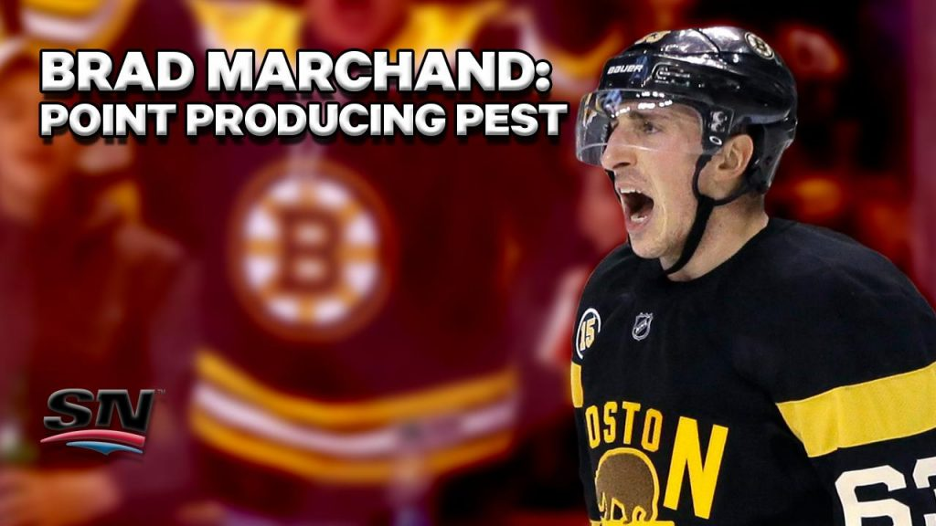 Brad-Marchand-Boston-Bruins-Pest Top 10 plays from 2019-2020: Brad Marchand Boston Bruins Brad Marchand NHL