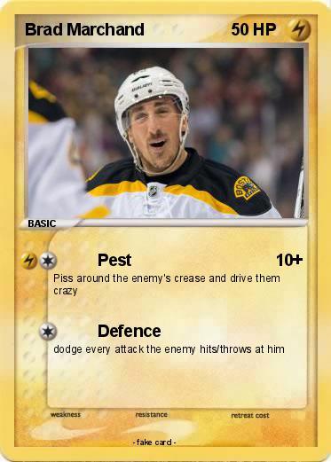 Brad-Marchand-Boston-Bruins-Pokemon Top 10 plays from 2019-2020: Brad Marchand Boston Bruins Brad Marchand NHL